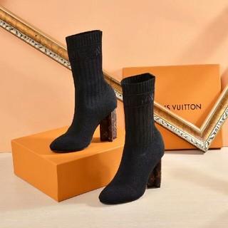 LOUIS VUITTON - お勧めLouis Vuitton ルイヴィトン レディース ショートブーツ