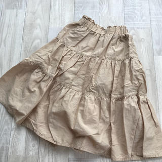 GU - 中古 110cm GU ティアードスカート