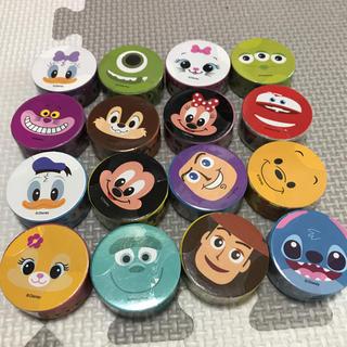 Disney - ディズニー 顔柄 マスキングテープ15個セット