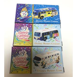 Disney - ディズニー35周年 トミカ