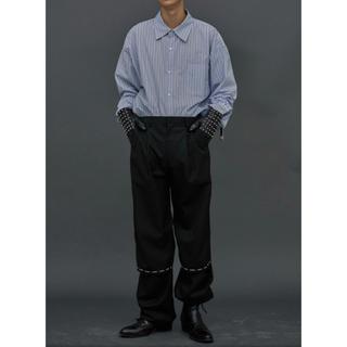 RAF SIMONS - 【ESC STUDIO】Leg open pants (Black)