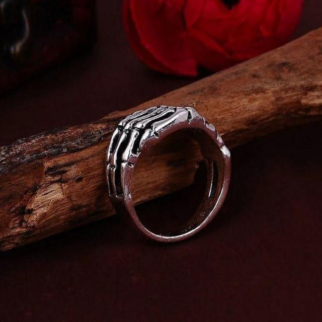 スカルハンドリング大 メンズリング メンズのアクセサリー(リング(指輪))の商品写真
