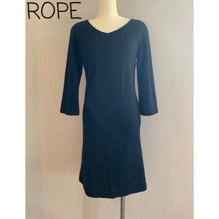 ROPE - ROPE☆ウールワンピース ブラック 美品