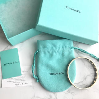Tiffany & Co. - Tiffany&co. ティファニー アトラス バングル ブレスレット シルバー
