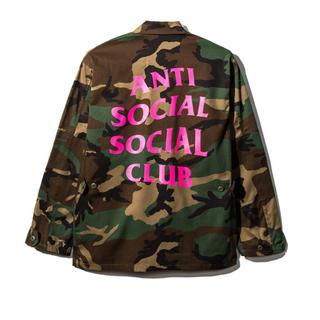 アンチ(ANTI)のanti social social club Never Change BDU(ミリタリージャケット)