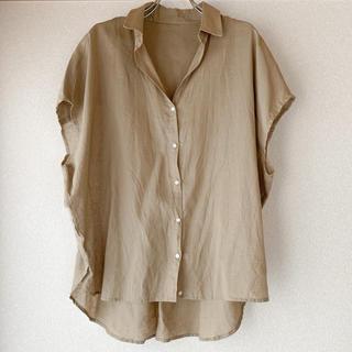 アーバンリサーチ(URBAN RESEARCH)のリネンコットンシャツ(シャツ/ブラウス(半袖/袖なし))