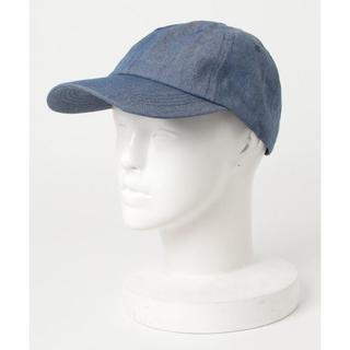 nano・universe - ナノユニバース デニム キャップ ブルー メンズ 帽子 フェス 夏 野球帽