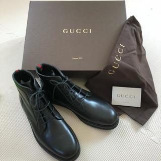 グッチ(Gucci)のGUCCI グッチ 新品未使用 ブーツ(ブーツ)