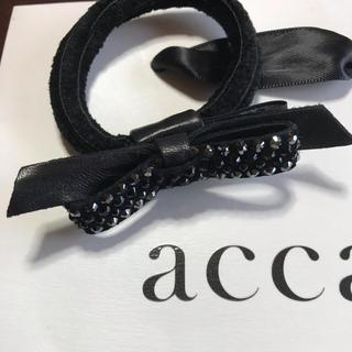 アッカ(acca)のto…様ご専用 新品 acca♡春夏ドレスポニー(ヘアゴム/シュシュ)
