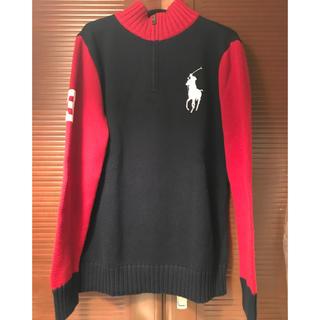 POLO RALPH LAUREN - ☆ラルフローレン 綿ニット セーター☆S〜M size新品タグ付き