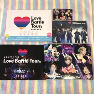 エービーシーズィー(A.B.C.-Z)のA.B.C-Z 2018 Love Battle Tour 初回 Blu-ray(ミュージック)