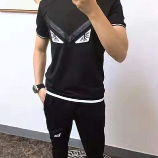 フェンディ(FENDI)のFENDI 上下セット (Tシャツ/カットソー(半袖/袖なし))