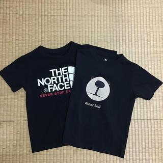 THE NORTH FACE - るん0224様専用です 120 130 ノースフェイス モンベル Tシャツ