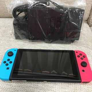 Nintendo Switch - 任天堂Switch本体 ネオン 中古美品