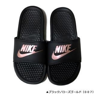 ナイキ(NIKE)の新品☆38%OFF♪超人気☆ナイキ/シャワーサン/ベナッシ/24(235-24)(サンダル)