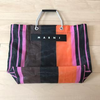 Marni - MARNI FLOWER CAFE ストライプバッグ