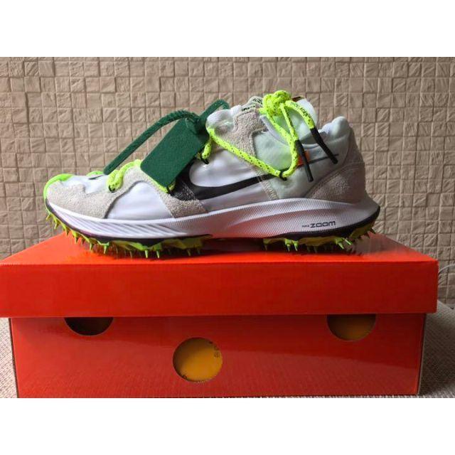 NIKE(ナイキ)のOff-White × NIKE ZOOM TERRA KIGER 5 メンズの靴/シューズ(スニーカー)の商品写真
