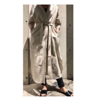 ENFOLD - ■新品未使用■ENFOLD ロングシャツ ワンピース  コート