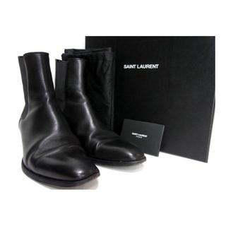 Saint Laurent - サンローランパリ SAINT LAURENT ■ サイドゴア ヒール ブーツ