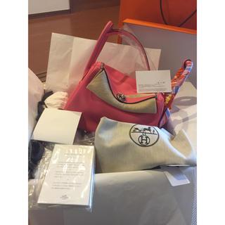 エルメス(Hermes)の7月購入 エルメス ローズアザレ リンディ 26 エヴァカラー(ハンドバッグ)