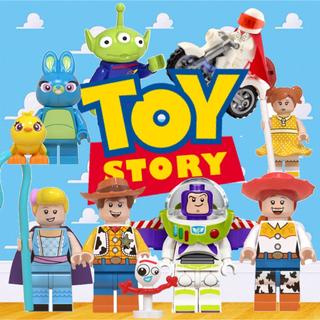 トイ・ストーリー - トイストーリー レゴ互換 8個セット TOYSTORY