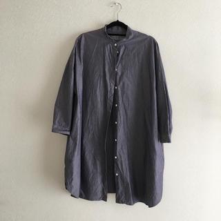 MUJI (無印良品) - 無印良品 チュニック  シャツ