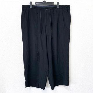 ヨウジヤマモト(Yohji Yamamoto)のヨウジヤマモト プールオム 17ss レーヨン ワイドパンツ(スラックス)