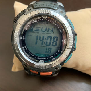 CASIO - カシオ  プロトレック  電波ソーラー  pro trek  腕時計