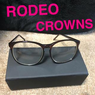 ロデオクラウンズ(RODEO CROWNS)のRodeo Crowns メガネ ダテメガネ(サングラス/メガネ)