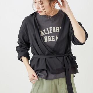 CIAOPANIC TYPY - ☆新品☆【 ciaopanic typy 】抜き襟カシュクールシャツ