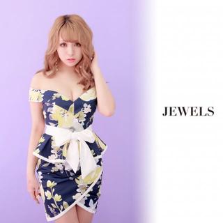ジュエルズ(JEWELS)の【定価¥6980!!】キャバ☆ドレス☆ほぼ新品(ナイトドレス)