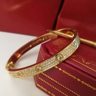 Cartier - Cartierカルティエ ブレスレット ラブブレス イエローゴールド 16cm