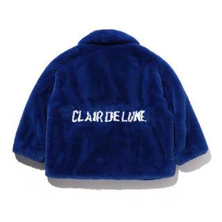三代目 J Soul Brothers - CLAIR DE LUNE ファージャケット ブルー