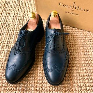 コールハーン(Cole Haan)の定価4万 コールハーン エアマディソンウイングチップ 黒(ドレス/ビジネス)