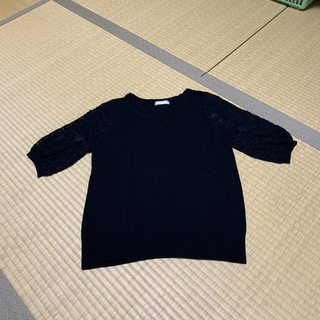 アーモワールカプリス(armoire caprice)のarmoirecaprice 5分袖ニット(ニット/セーター)
