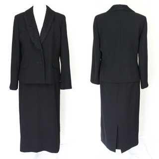 ラピーヌ(LAPINE)のラピーヌ★ブラックフォーマル 13号 上質 ジャケット&スカート 冠婚葬祭(スーツ)