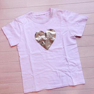 ハニーミーハニー(Honey mi Honey)の最終値下げ★ハニーミーハニー ハートTシャツ ピンク ゴールド(Tシャツ(半袖/袖なし))