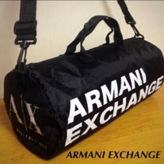 ARMANI EXCHANGE - 【未使用】アルマーニエクスチェンジ 2WAYドラムバッグ