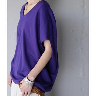 アンティカ(antiqua)のアンティカ VネックTシャツ(Tシャツ(半袖/袖なし))