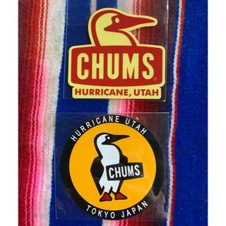 CHUMS - 新品 CHUMS Sticker 2枚セット チャムス ステッカー z