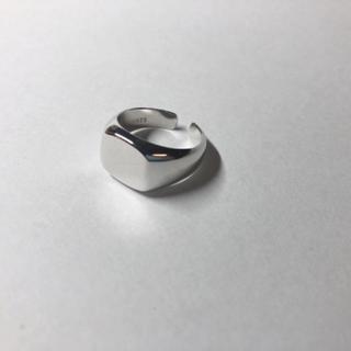 ハイク(HYKE)のシルバー925 スクエアリング silver925 リング(リング(指輪))
