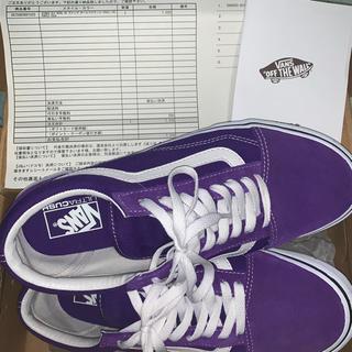 VANS - オールドスクール紫