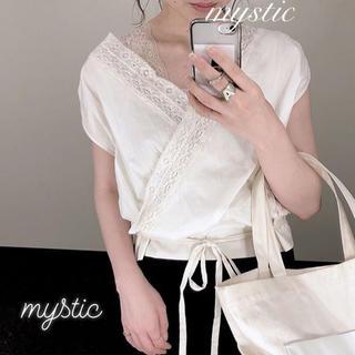 mystic - 最新作❁ミスティック カシュクールレースブラウス