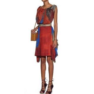 Vivienne Westwood - ヴィヴィアン ウエストウッド ユニオンジャック 転写 ワンピース ドレス 38