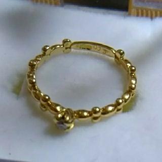 k18ダイヤリング(リング(指輪))
