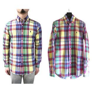 ラルフローレン(Ralph Lauren)のラルフローレン マルチカラー マドラスチェック シャツ(シャツ)