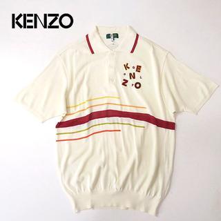 ケンゾー(KENZO)のKENZO GOLF ケンゾー 速乾・吸汗◎サマーニットポロシャツ(ポロシャツ)