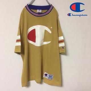 Champion - Champion ビッグロゴプリント メッシュ ゲームシャツ Tシャツ
