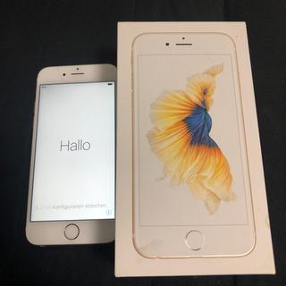 Apple - iPhone6s ゴールド 本体 128GB