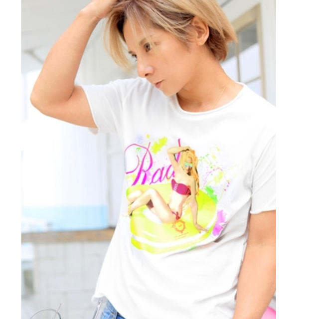 Rady(レディー)のRady パリピガールメンズTシャツ メンズのトップス(Tシャツ/カットソー(半袖/袖なし))の商品写真